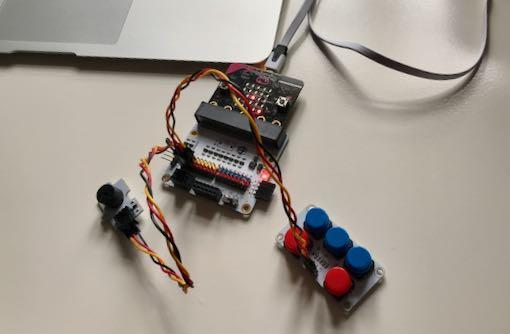 Microbit a hudební stroj